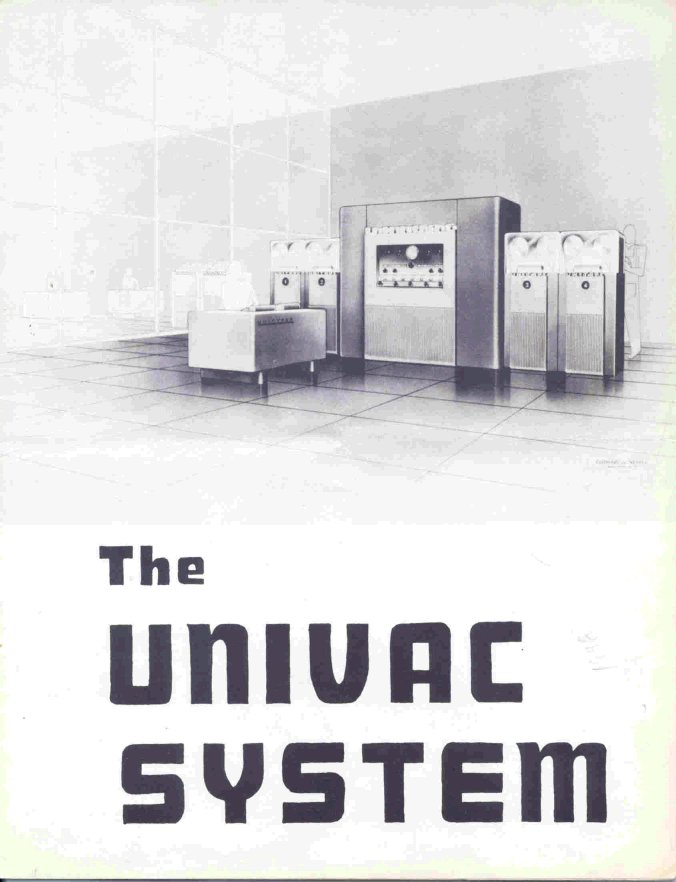 Early flyer for the UNIVAC